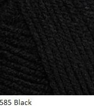 585 čierna