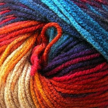 4340 hnedo-ružovo-oranžovo-modrá