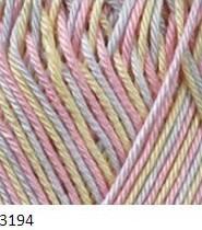 3194 žlto-ružovo-modrá