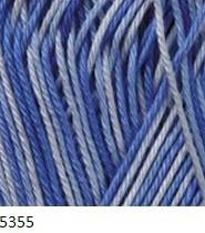 5355 bielo-modrá
