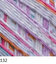 132 bielo-ružovo-fialovo-tyrkysová