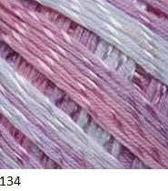 134 bielo-ružovo-fialová