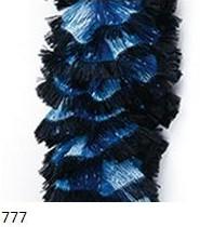 777 čierno-tyrkysová