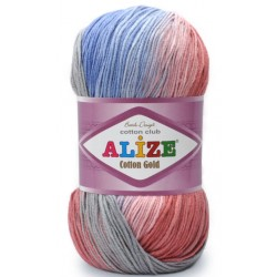 Alize - Cotton gold batik 5 x 100g