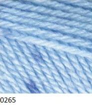 0265 modrá / modrá stredná