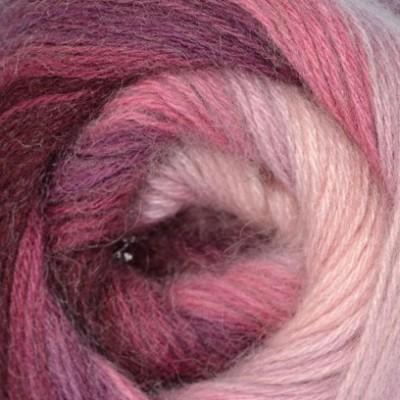 1895 pudrovo-ružovo-slivková
