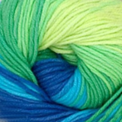 4150 žlto-zelono-modrá