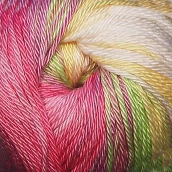 1822 krémovo-žlto-ružová
