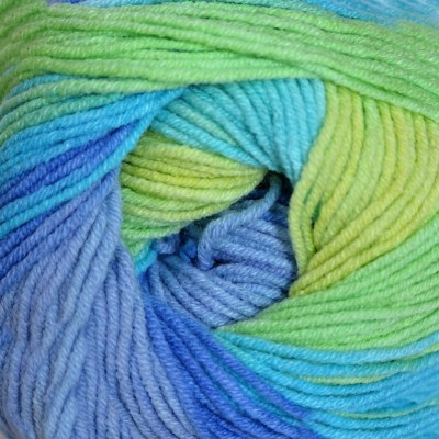 4146 žlto-zeleno-modrá