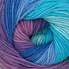4531 tyrkysovo-modro-fialová