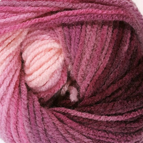1895 ružovo-bordová
