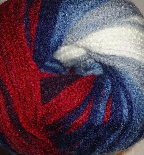 2978 bielo-modro-červená