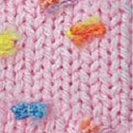 5381 ružová / mix farebných kvietkov