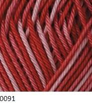 0091 ružovo-červená