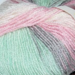 6541 ružovo-sivo-mentolová