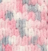 5864 bielo-ružovo-sivá