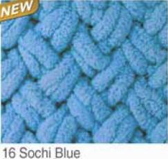 16 modrá soči