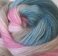 2970 ružovo-modro -béžová