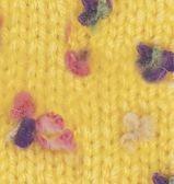 5873 žltá / mix farebných kvietkov
