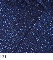 121 tmavo modrá