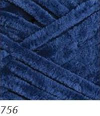 756 modrá tmavá