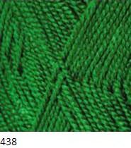 438 trávovo zelená