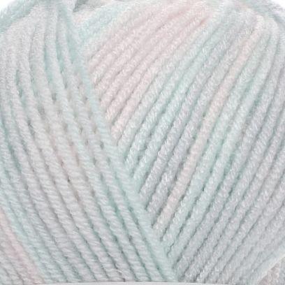 6623 ružovo-sivo-mentolová