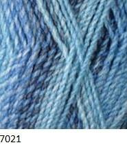 7021 modro-modrá