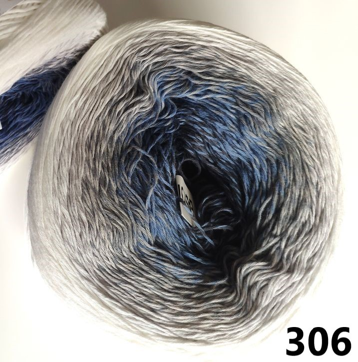 306 bielo-sivo-modrá