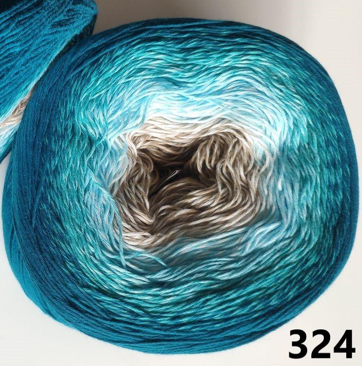 324 tyrkysovo-béžová