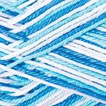 510 bielo-tyrkysovo-modrá