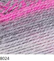 8024 sivo-ružový
