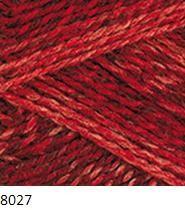8027 červeno-bordová