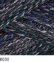 8030 modro-petrolejovo-šedá