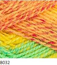 8032 žlto-oranžovo-zelená