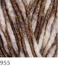 955 krémová-hnedá