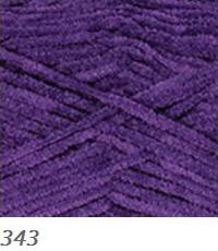 343 tmavo fialová