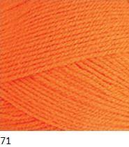 71 oranžová