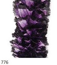 776 čierno-fialová