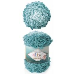 Alize - Puffy  fine  ombre batik 1 x 500g