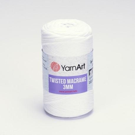 Twisted macrame 3mm 4x250g